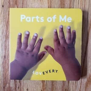 NWOT Lovevery Parts of Me Book